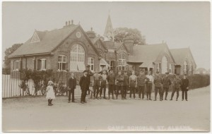 Camp School , first world war, St Albans Museum copyright